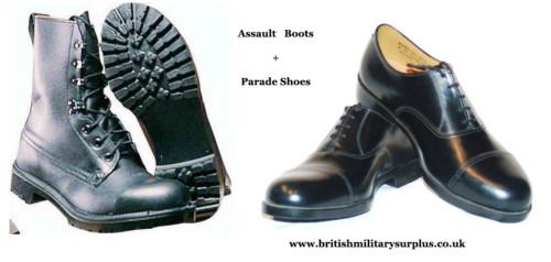 Footwear British Military Surplus