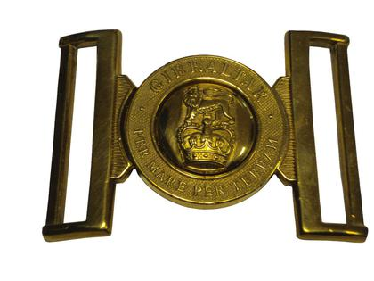 Royal Marines Stable Belt Buckle - Grade 1