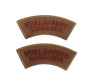 Royal Marines Commando Shoulder Patches - NEW