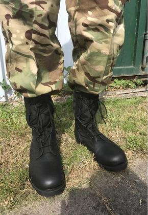 Men's Black Army Jungle Boots