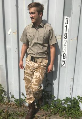 Men's Sand Camo Trousers