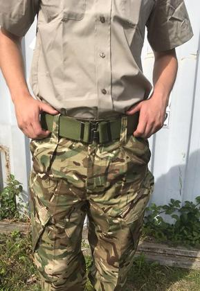 Men's Green Army Belt