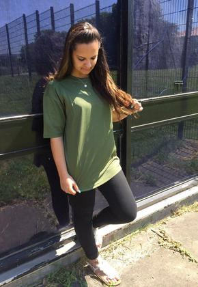 Army Green Women's T-shirt