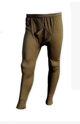 Olive Green Thermal Long Johns - Grade 1