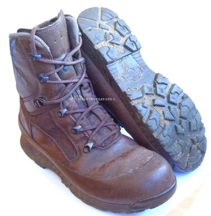 Haix Brown Leather Boots - Grade 2