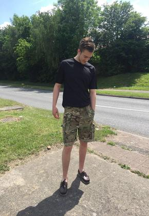 Men's MTP Camo Shorts