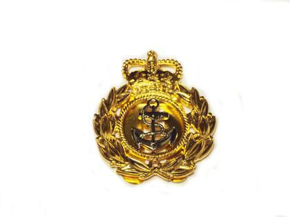 Royal Navy Chief Officers Cap Badge