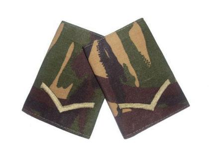 Lance Corporal Rank Slides - DPM - 1 Pair - New