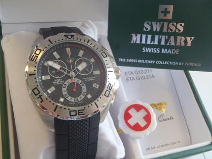 Swiss Military Watch Made by Chrono