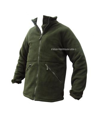Thermal Olive green Fleece With Collar - Grade 1